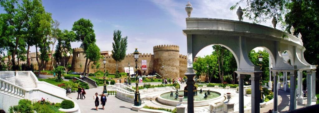 Panoramabild_Baku_Filarmonia_Park